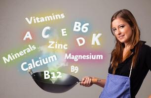 vitamines, nutriments et mineraux