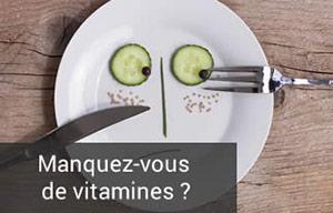 évaluation des besoins en vitamines
