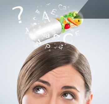 réflexion pour choix d'un complément alimentaire ou de vitamines