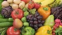 Plusieurs fruits et légumes