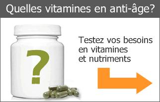 Quelles vitamines en anti-âge