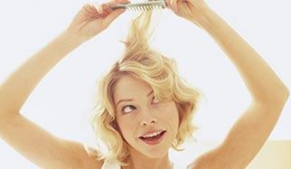 mèche cheveux