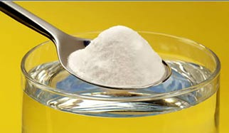 poudre de bicarbonate de soude