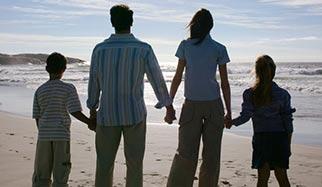 famille, parents et enfants