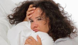 femme sans sommeil