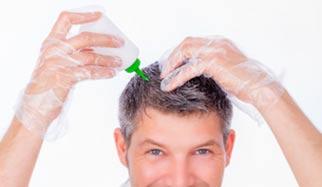 lotion sur les cheveux qui tombent