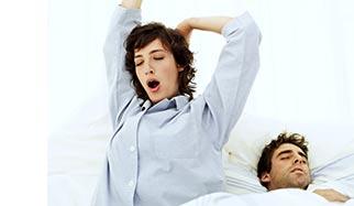 sommeil et insomnie dans le lit