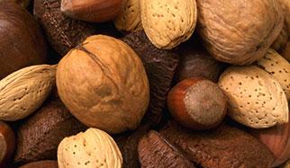 Les noix contiennent du chrome
