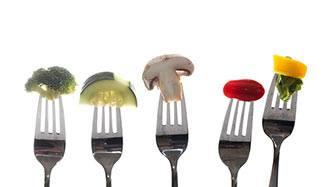 tomate, brocoli, champignon