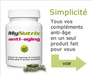 vitamines anti-age