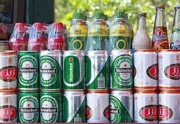 cannettes et sodas