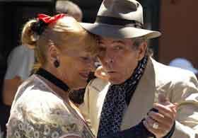 couple qui danse le tango