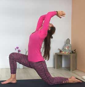Yoga : étirement vers l'arrière