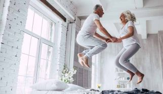 couple de seniors en forme